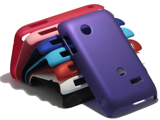 Color Series Hard Case Hoesje voor Sony Xperia Tipo