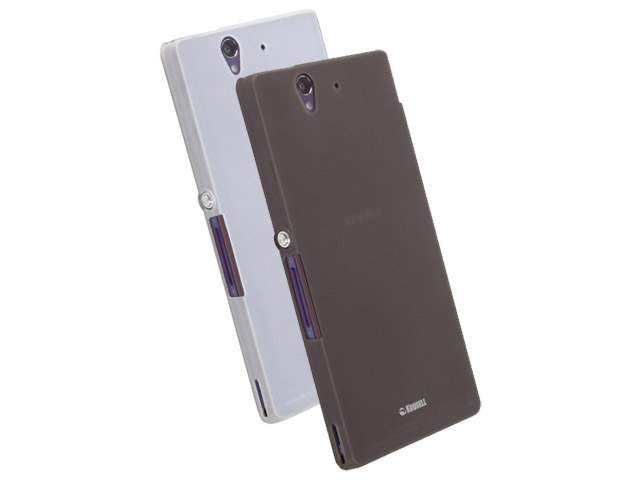 Krusell FrostCover Case voor Sony Xperia Z Donkergrijs