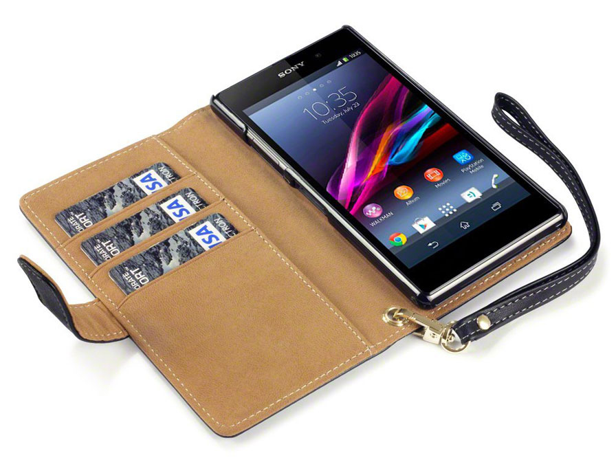 CaseBoutique Wallet Case voor Sony Xperia Z1