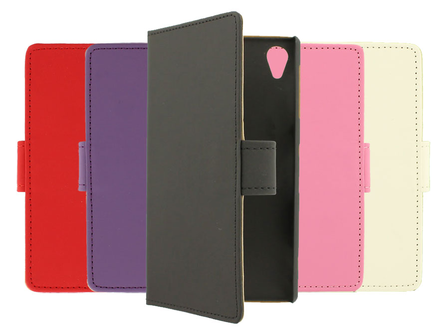 Classic Book Case Hoesje voor Sony Xperia Z1