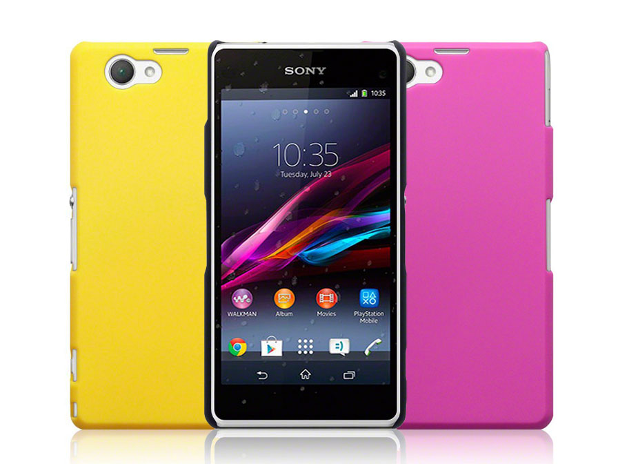 Caseboutique Frosted Hard Case Hoesje Voor Sony Xperia Z1 Compact