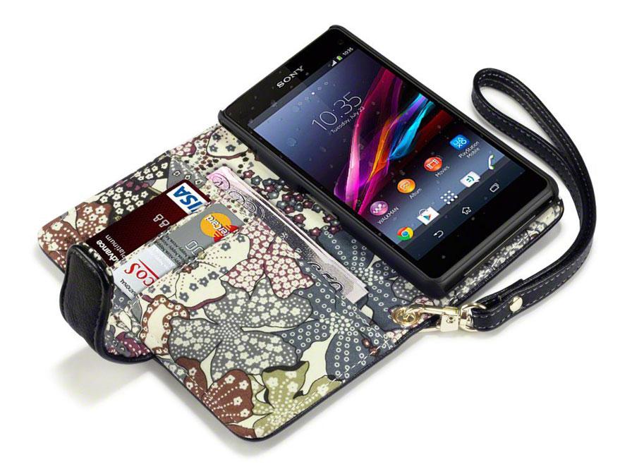 Terrapin Lily Wallet Case Hoesje Voor Sony Xperia Z1 Compact