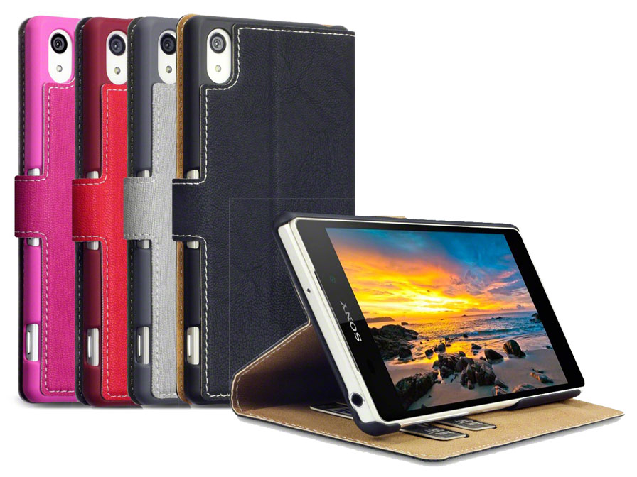 Covert UltraSlim Book Case - Hoesje voor Sony Xperia Z2