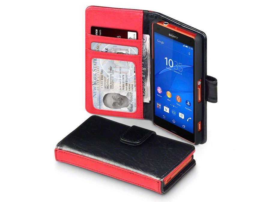 CaseBoutique Sterling Wallet Stand Case - Sony Xperia Z3 Compact hoesj