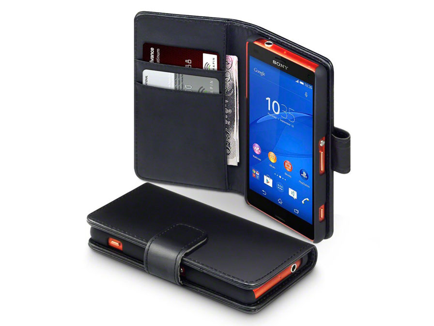 CaseBoutique Leather Wallet Case - Sony Xperia Z3 Compact hoesje