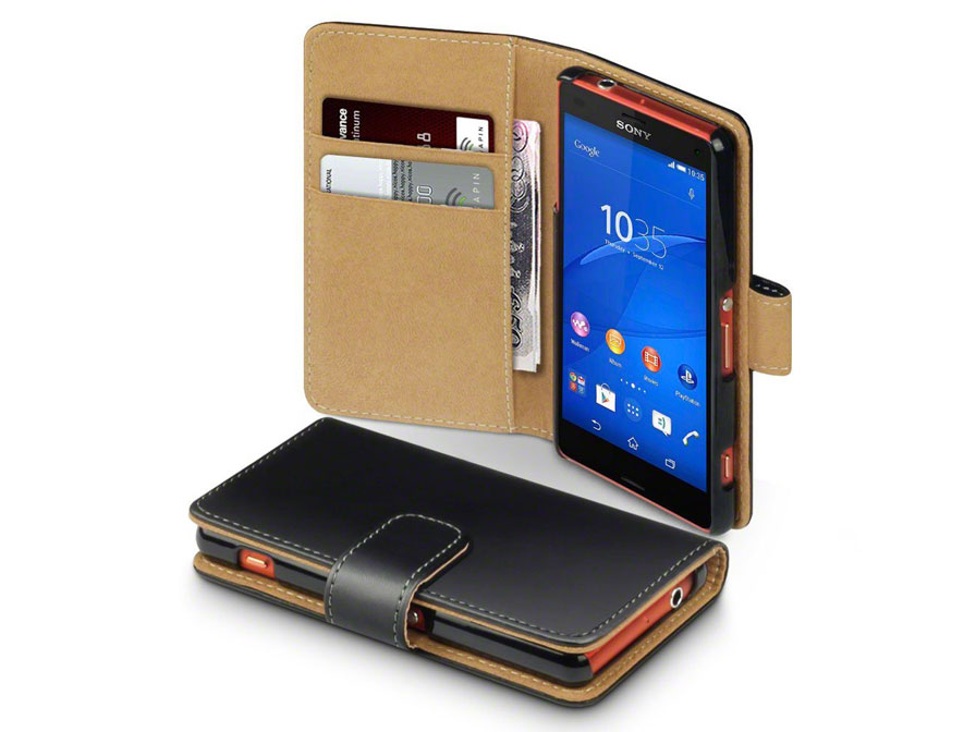 caseboutique wallet case - sony xperia z3 compact hoesje