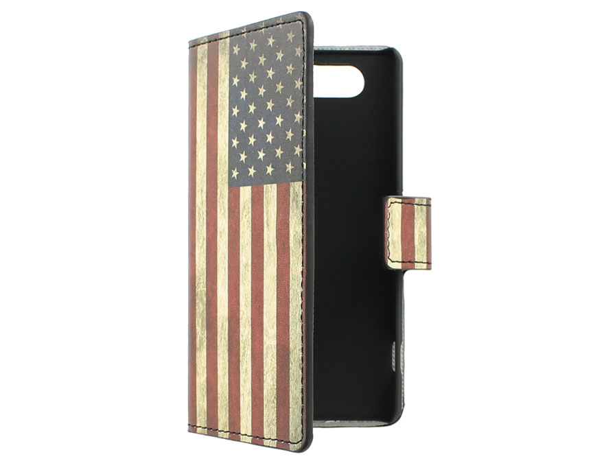 American Vintage Flag case - Sony Xperia Z3 Compact hoesje