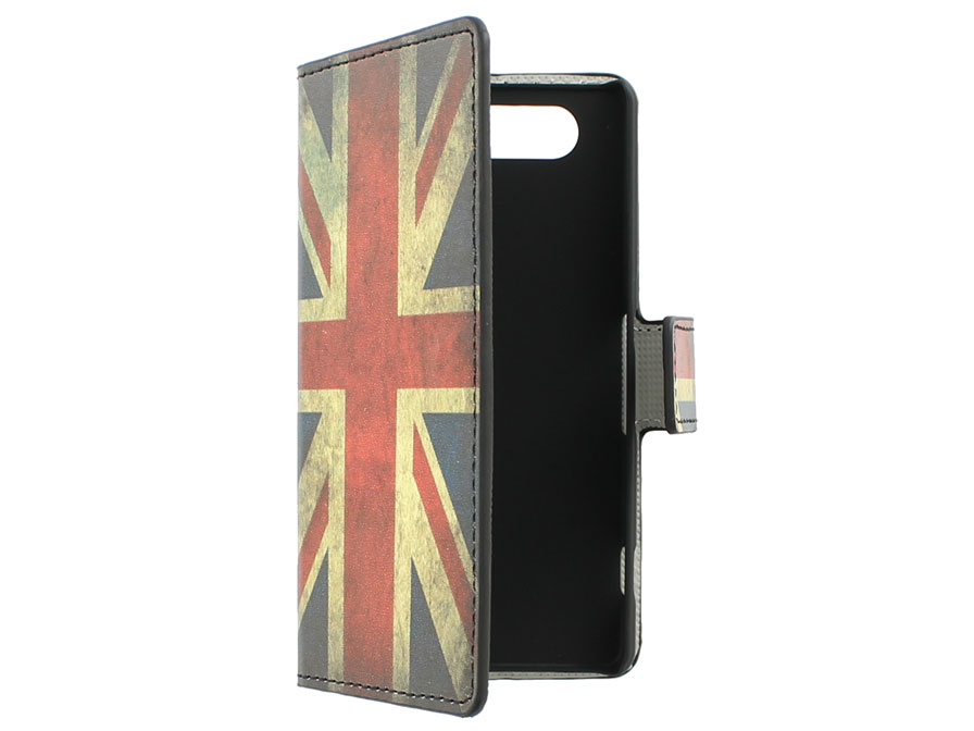Great Brittain Vintage case - Sony Xperia Z3 Compact hoesje