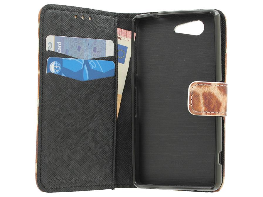 Giraffe Wallet Case Sony Xperia Z3 Compact Hoesje