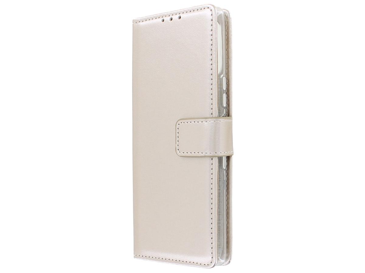 Bookcase Mapje Goud - Sony Xperia L4 hoesje