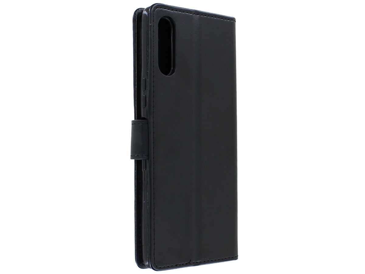 Bookcase Mapje Zwart - Sony Xperia L4 hoesje
