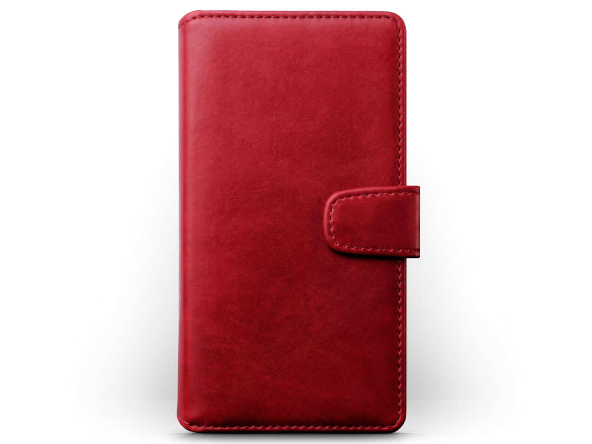 CaseBoutique Bookcase Rood Leer - Sony Xperia L2 hoesje