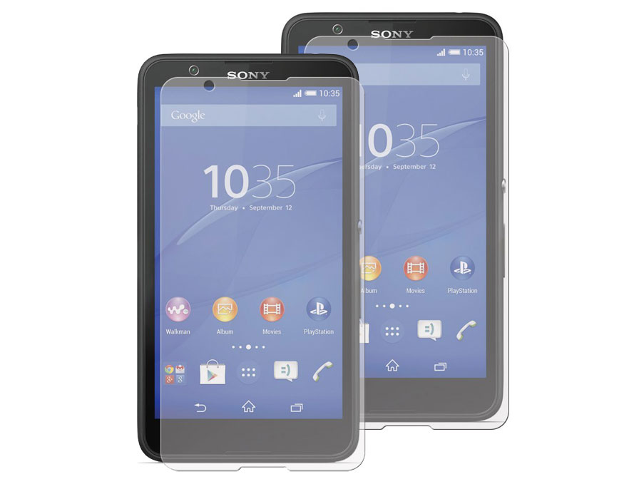 Clear Screenprotector voor Sony Xperia E4 (2-pack)