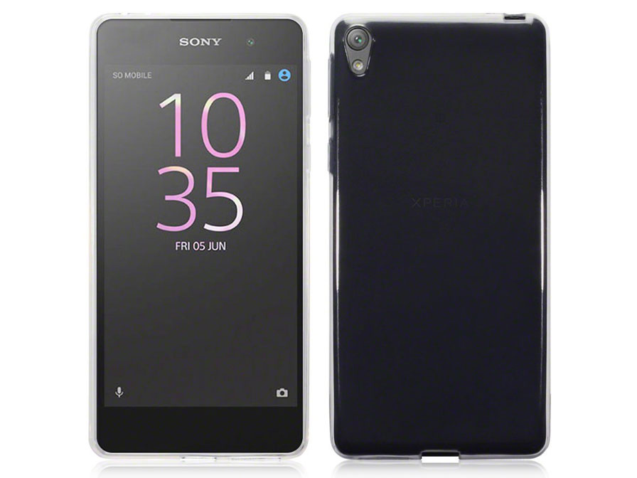CaseBoutique TPU Soft Crystal Case - Sony Xperia E5 hoesje