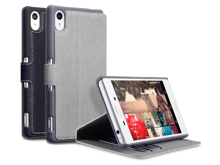 Covert UltraSlim Book Case | Sony Xperia M4 Aqua hoesje