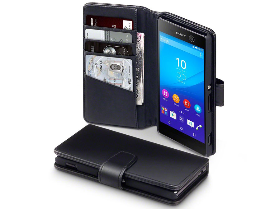 CaseBoutique Leather Case - Sony Xperia M5 hoesje