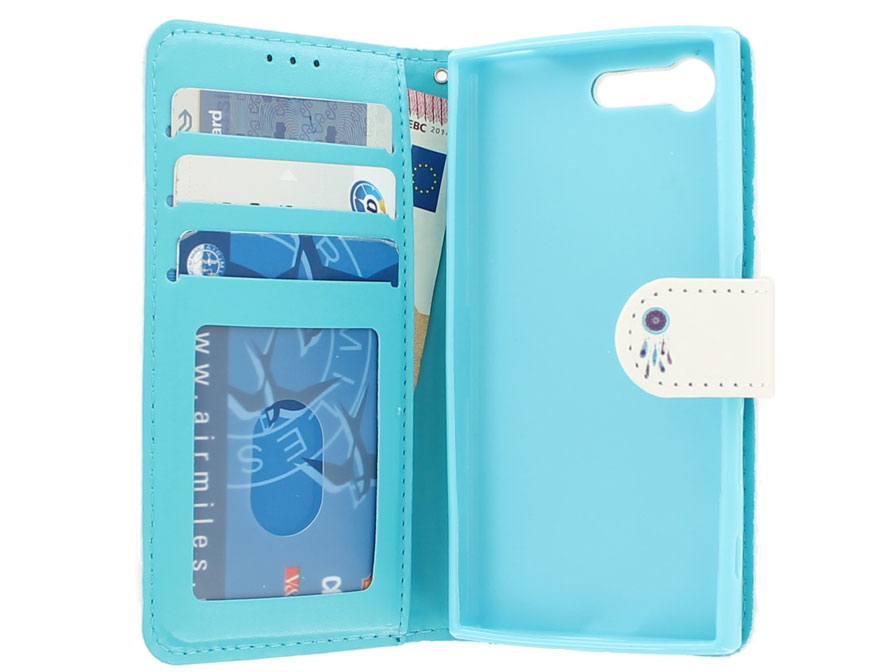 Dreamcatcher Bookcase - Sony Xperia X Compact hoesje