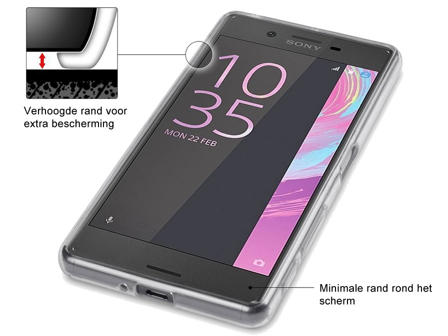Crystal TPU Case - Sony Xperia X Performance hoesje