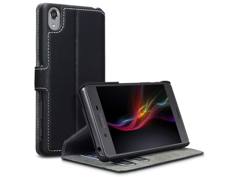 Covert Slim Bookcase - Sony Xperia X Performance hoesje