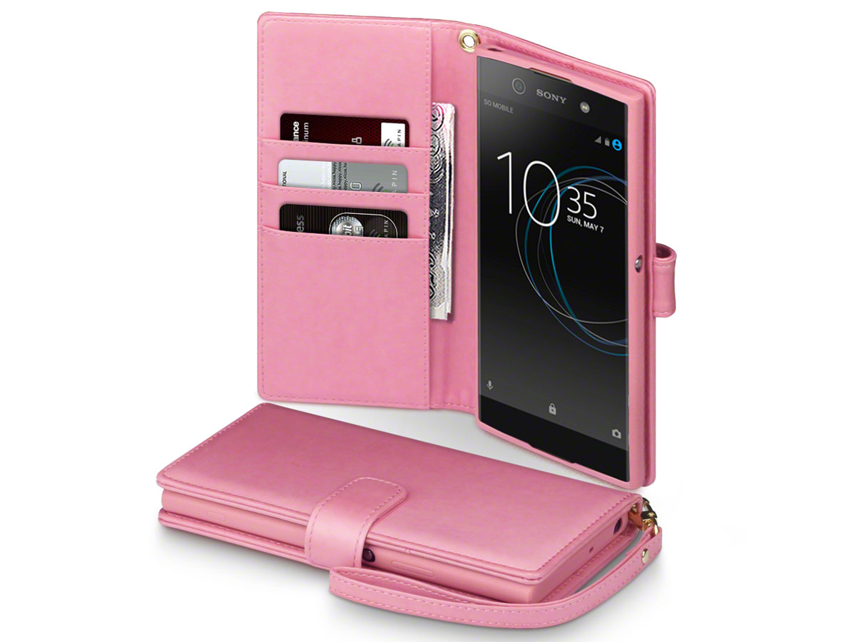 CaseBoutique Bookcase Rose - Sony Xperia XA1 Ultra Hoesje