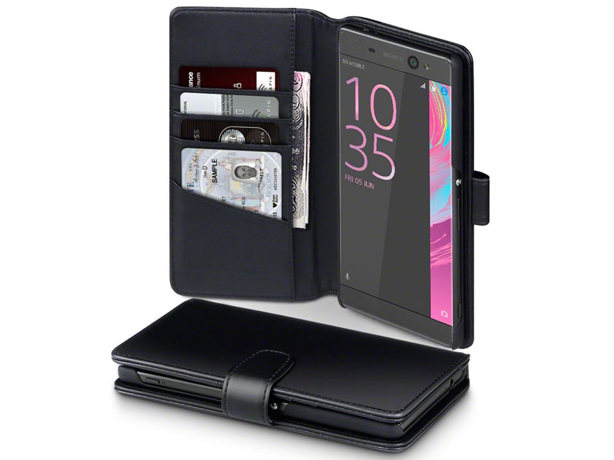 CaseBoutique Leather Bookcase - Sony Xperia XA Ultra hoesje