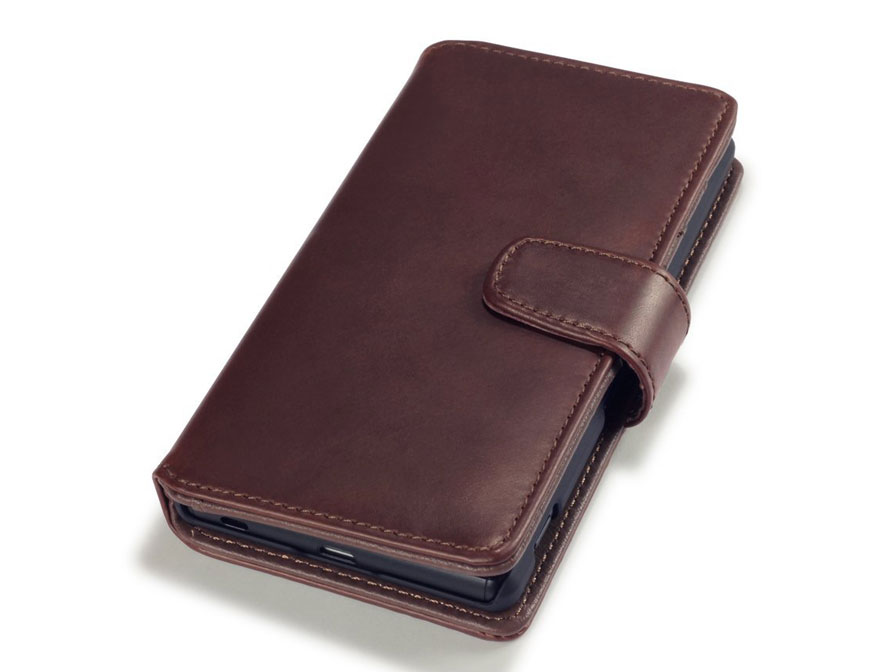 CaseBoutique Leather Wallet Case - Sony Xperia Z3 Plus hoesje