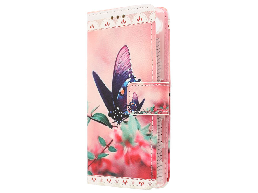 Butterfly Book Case - Sony Xperia Z5 Compact hoesje