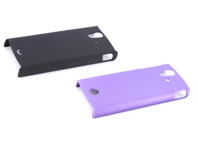 Frosted Hard Case Cover voor SonyEricsson Xperia Ray