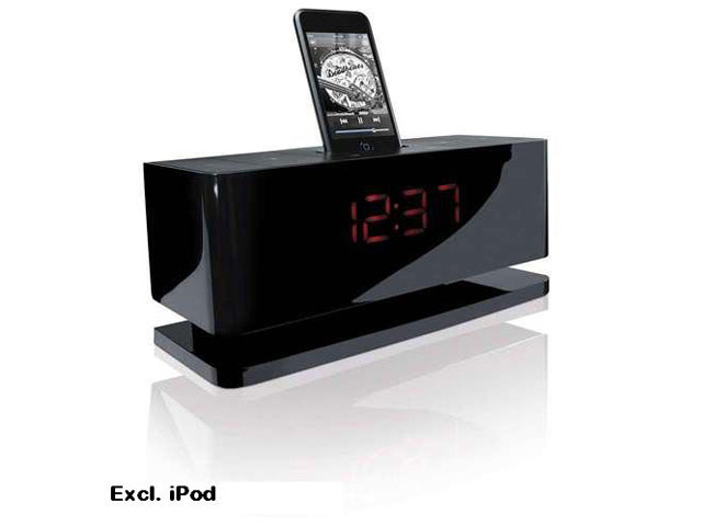 Gear4 BlackBox 24/7 Alarm Clock Radio Speakerset