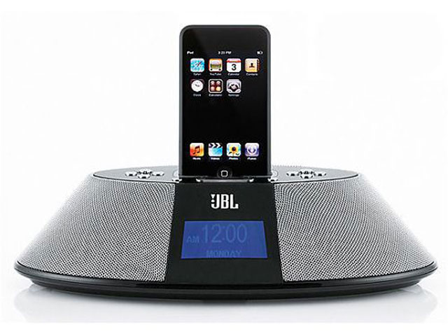 JBL On Time 200iD Speaker Wekkerradio voor iPod & iPhone