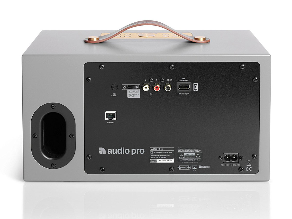 Audio Pro Addon C10 Multiroom Speaker - Grijs