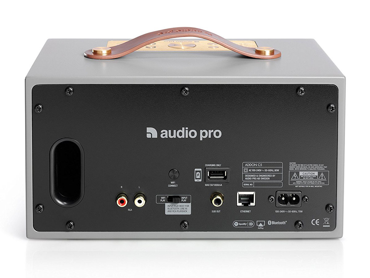 Audio Pro Addon C5 Multiroom Speaker - Grijs