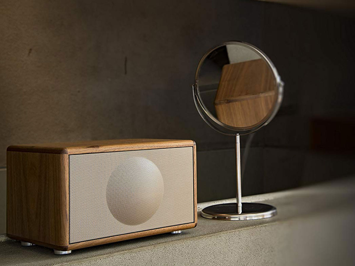 Geneva Classic S Walnut Speaker Bluetooth en FM/DAB+