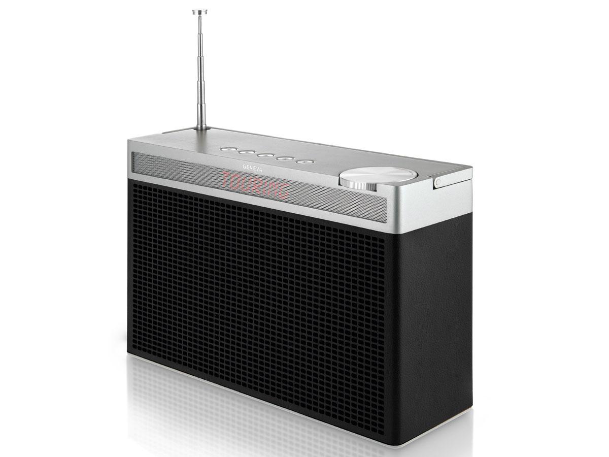 geneva touring l bluetooth speaker fm dab zwart. Black Bedroom Furniture Sets. Home Design Ideas