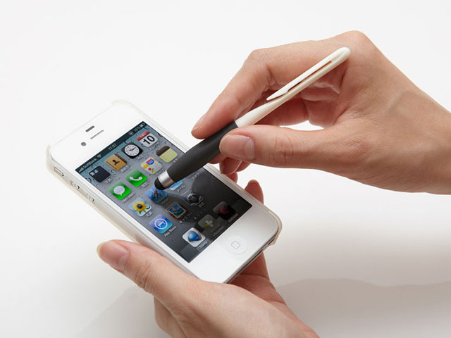 +Simplism Grip Touch Pen Stylus voor Capacitieve Touchscreens