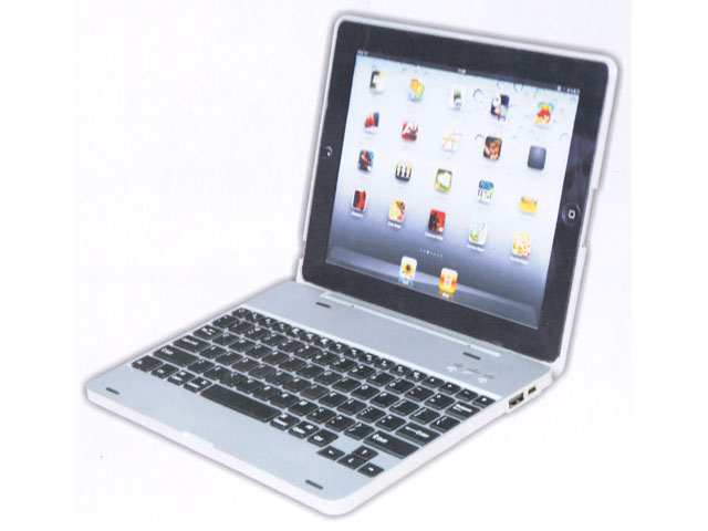 Bluetooth Keyboard Laptop Case voor iPad 2, 3 & 4