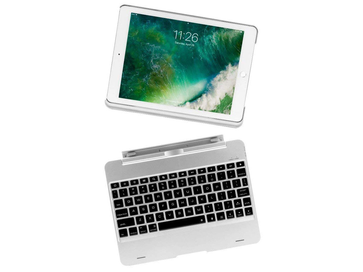 Bluetooth Toetsenbord Case Afneembaar iPad 9.7