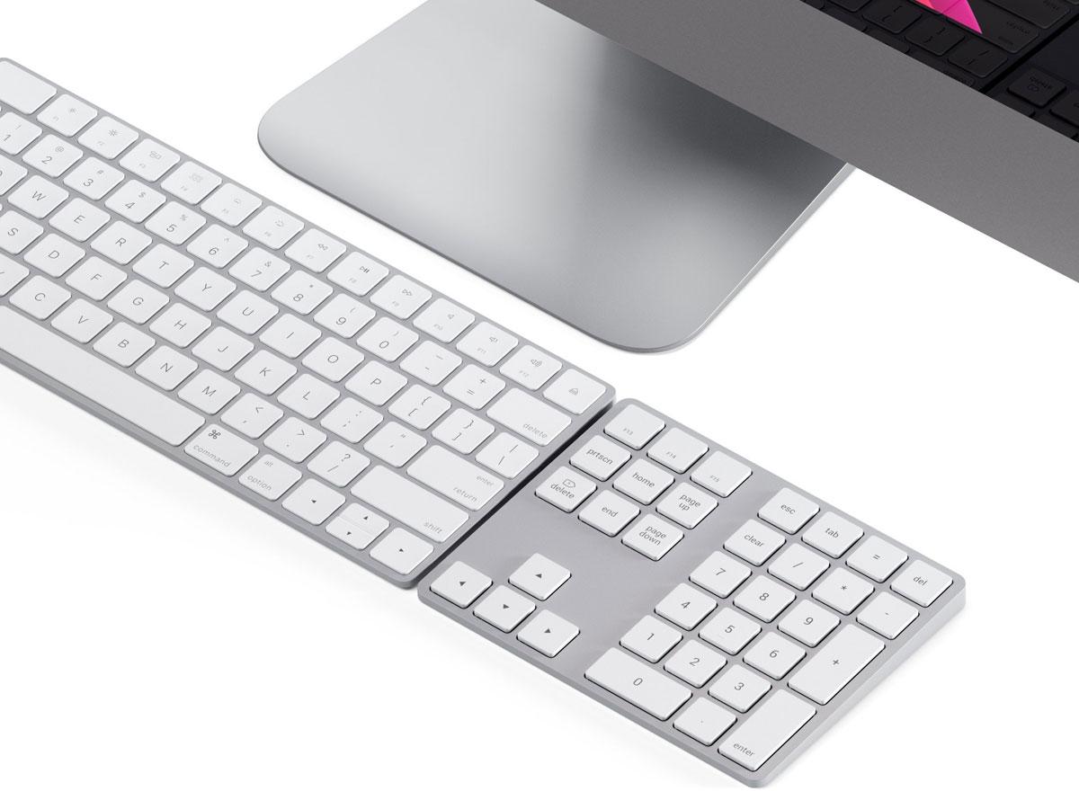 Satechi Extended Bluetooth Keypad - Numeriek Keypad (Zilver)