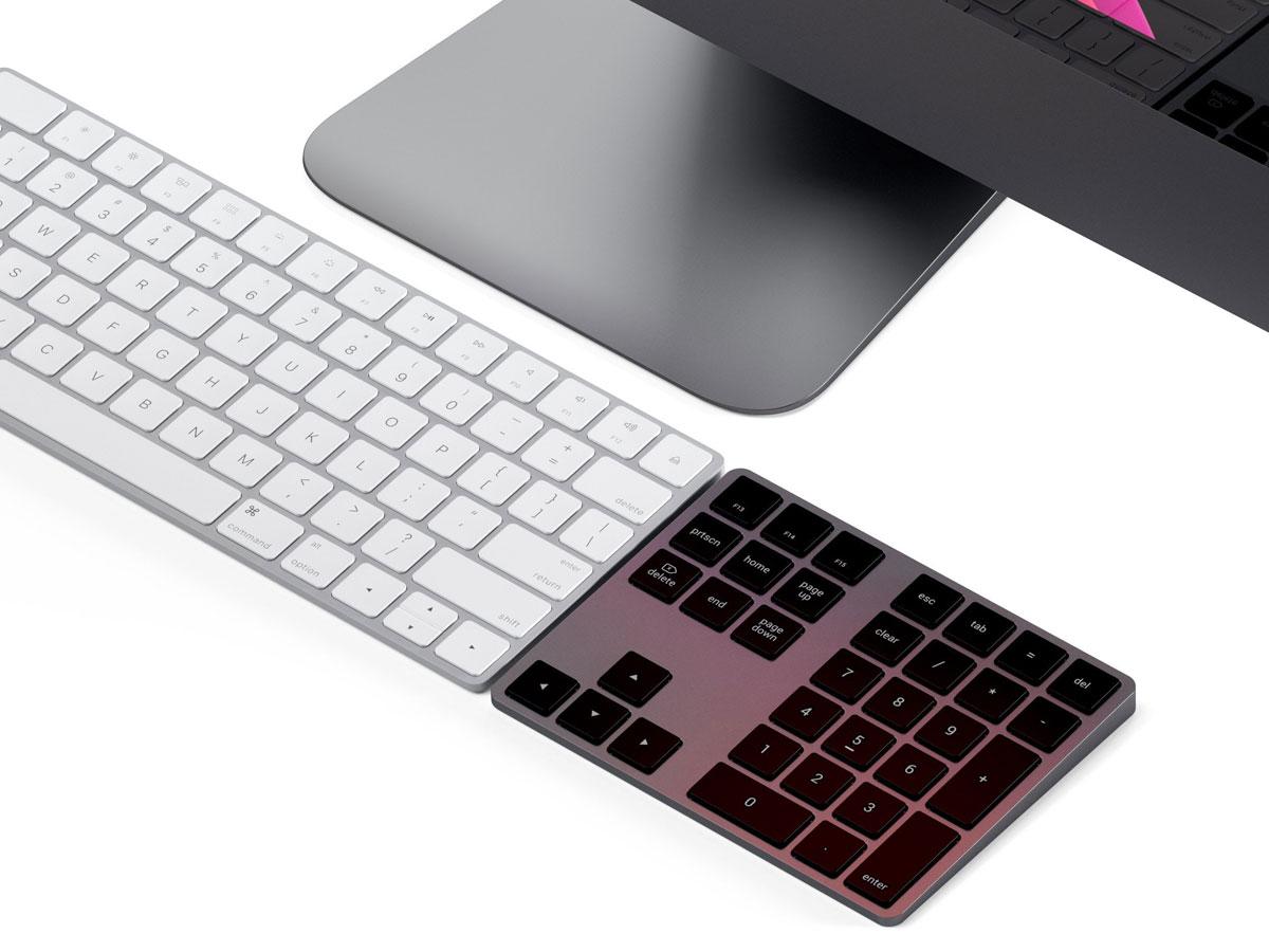 Satechi Extended Bluetooth Keypad - Numeriek Keypad (Space Grey)