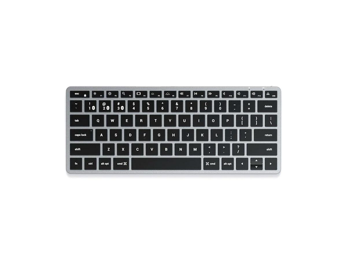Satechi Slim X1 Bluetooth Backlit Keyboard - QWERTY Space Grey