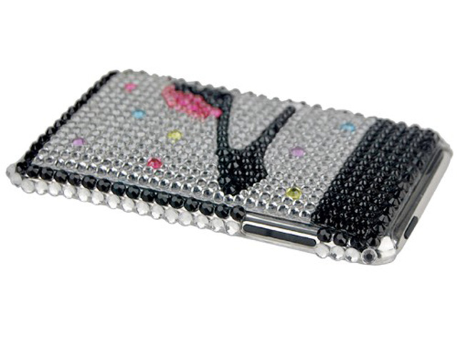 High Heel Diamond Case Hoes voor iPod touch 2G/3G