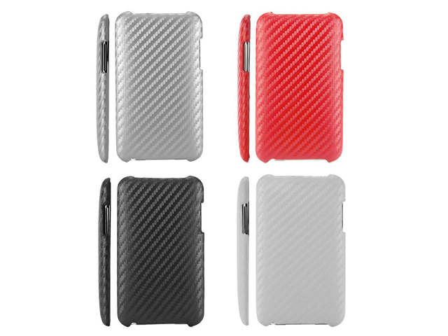 Carbon Back Case voor iPod touch 2G/3G