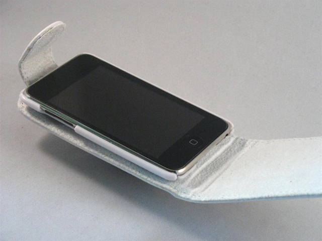 Lederen Case Bottomflip voor iPod touch 2G/3G
