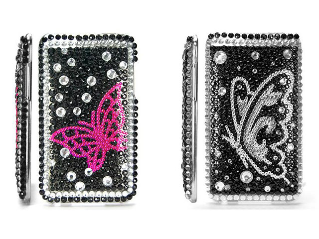 Butterfly Diamond Case voor iPod touch 2G/3G
