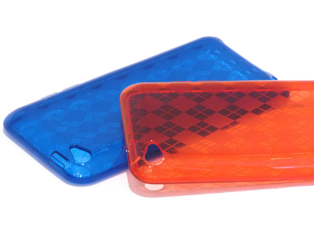 Argyle TPU Case Hoesje voor iPod touch 4G