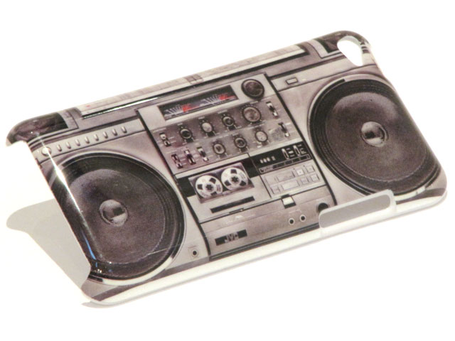 BoomBox Back Case Hoes voor iPod touch 4G