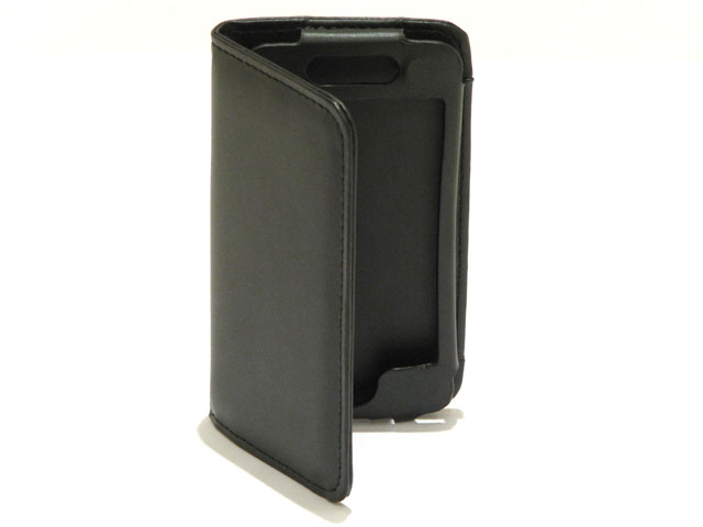 Business Leather Sideflip Case voor iPod touch 4G