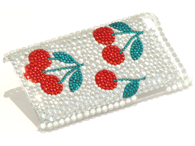Cherry Diamond Case Hoes voor iPod touch 4G