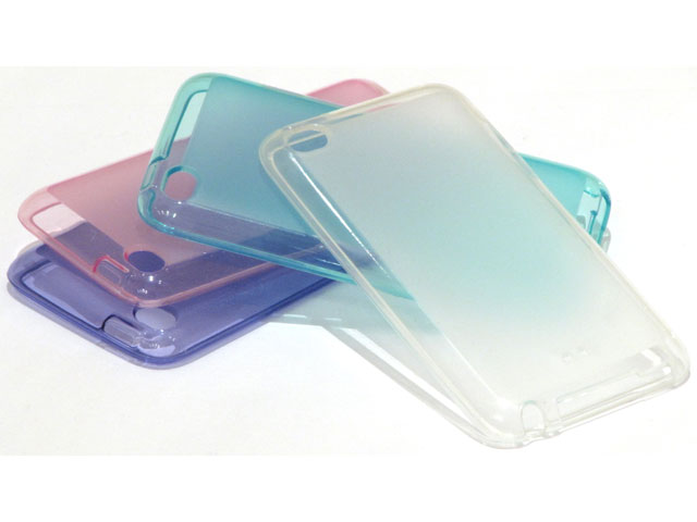 Color Series TPU Case Hoes voor iPod touch 4G