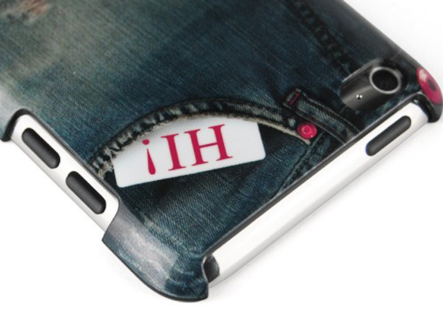 Denim Jeans Case Hoesje voor iPod touch 4G